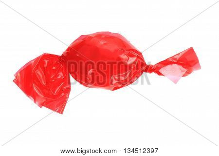 Red Bonbon Isolated