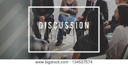 Discussion Talking Conversation Connection Concept
