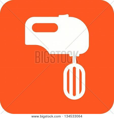 Kitchen, mixer, cooking icon vector image. Can also be used for kitchen. Suitable for use on web apps, mobile apps and print media.
