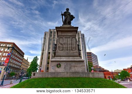 Portland Soldiers And Sailors Monument - Maine