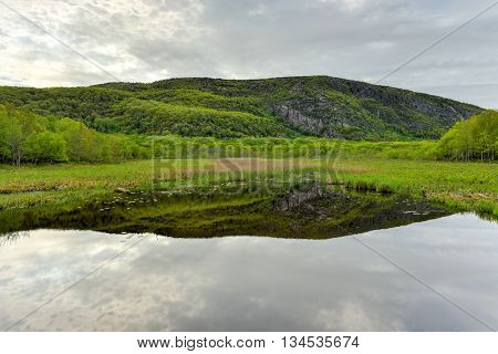Lake In Acadia National Park
