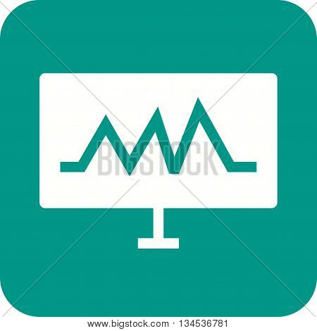 Analytics, results, data icon vector image. Can also be used for data sharing. Suitable for mobile apps, web apps and print media.