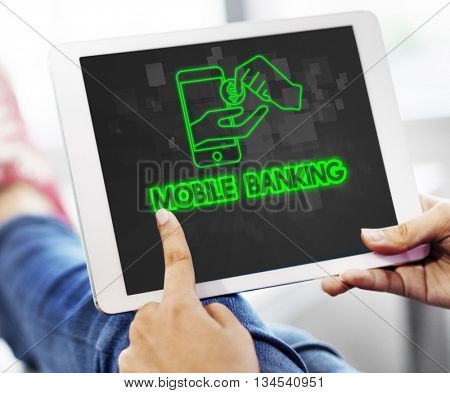 Payment Banking Transaction Accounting E-Banking Concept