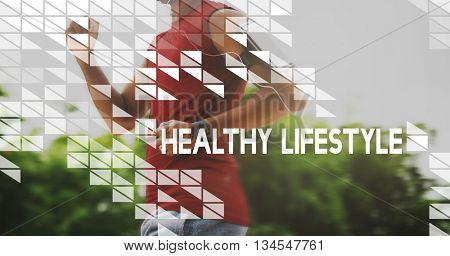 Healthy Lifestyle Wellbeing Live Well Healthcare Wellness Concept