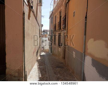 Narrow Side Street