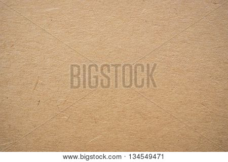 Closeup Brown Paper board texture for background.