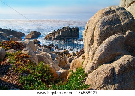 Nice landscape at Big Sur California USA Monterey
