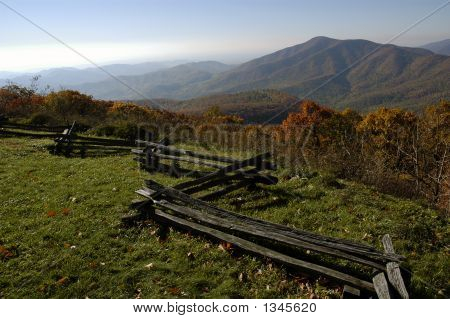 Blue Ridge von Virginia
