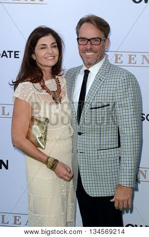 LOS ANGELES - JUN 15:  Erik Logan, Erin Logan at the Greenleaf OWN Series Premiere at the The Lot on June 15, 2016 in West Hollywood, CA