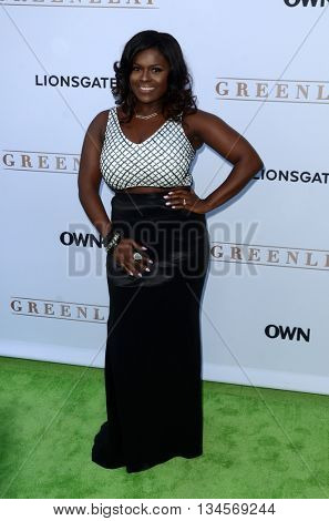 LOS ANGELES - JUN 15:  Deborah Joy Winans at the Greenleaf OWN Series Premiere at the The Lot on June 15, 2016 in West Hollywood, CA