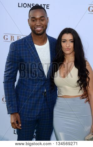 LOS ANGELES - JUN 15:  Tye White at the Greenleaf OWN Series Premiere at the The Lot on June 15, 2016 in West Hollywood, CA