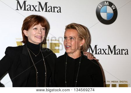 LOS ANGELES - JUN 15:  Frances Fisher, Gabrielle Carteris at the Women In Film 2016 Crystal and Lucy Awards at the Beverly Hilton Hotel on June 15, 2016 in Beverly Hills, CA