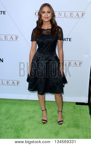 LOS ANGELES - JUN 15:  Desiree Ross at the Greenleaf OWN Series Premiere at the The Lot on June 15, 2016 in West Hollywood, CA