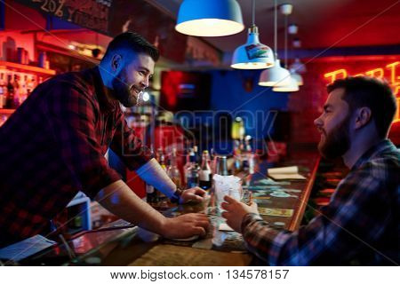 Barman and client