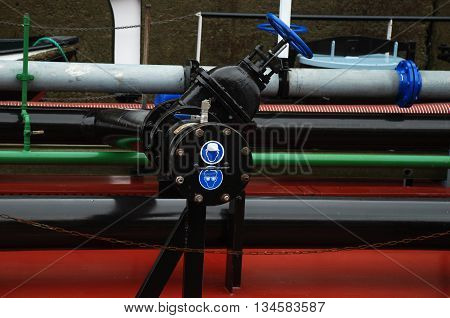 industrial pipes for energy