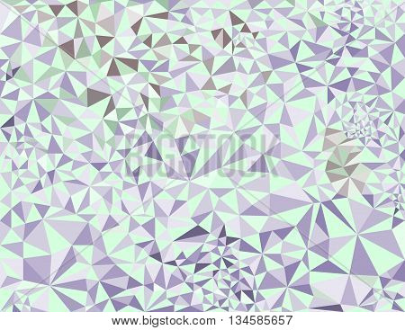 Low poly style vector Abstract green low poly background vector.Geometric background with triangular polygons.