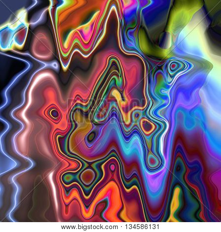 Abstract coloring background of the sunrise gradient with visual wave and twirl effects,good for your idea design in the project