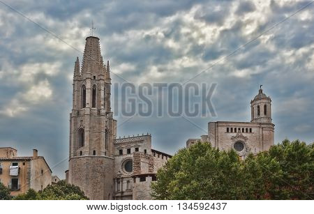 Cathedral is considered to be the hallmark of Girona. Well preserved since the Middle Ages the historic core of the city attracts a significant number of tourists