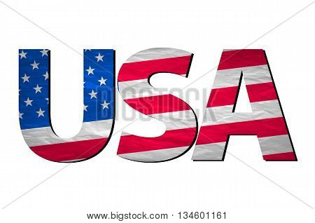 Made In The Usa Typography Design, T-shirt Graphics.