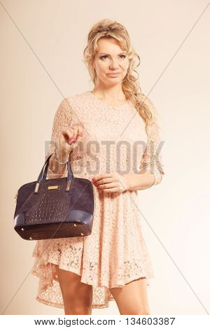 Portrait Of Mid Aged Fashionable Woman.