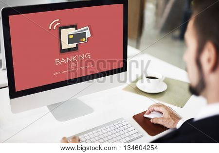 E-commerce Digital Payment Banking Cash Concept