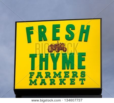 Fresh Thyme Farmers Market Exterior And Logo