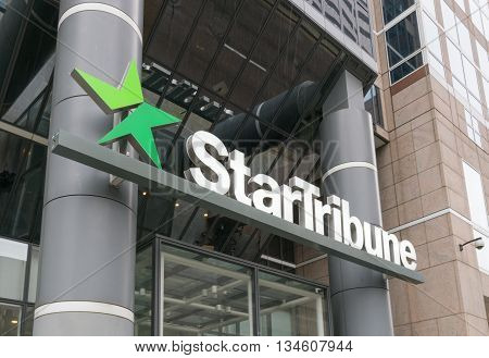 Startribune Headquarters And Logo