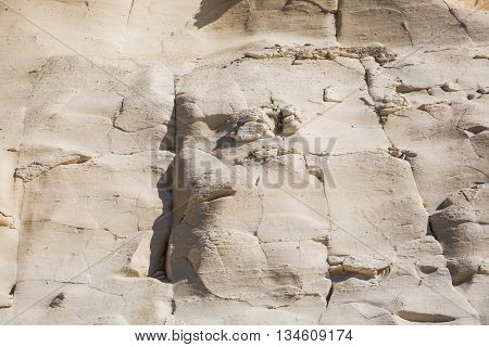 Sandstone Cliffs Above The Xwejni Bay