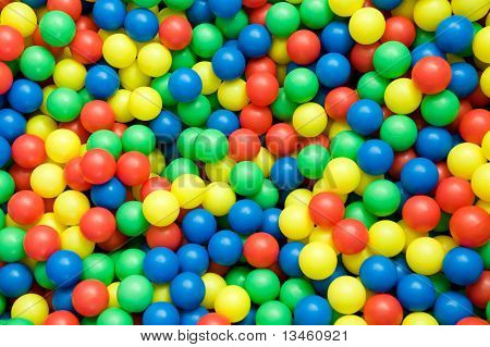 Color Balls Background