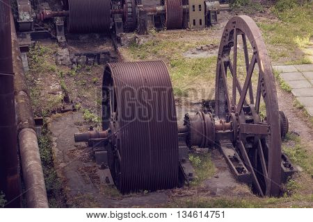 Old Wheel Sheet Bar Mill
