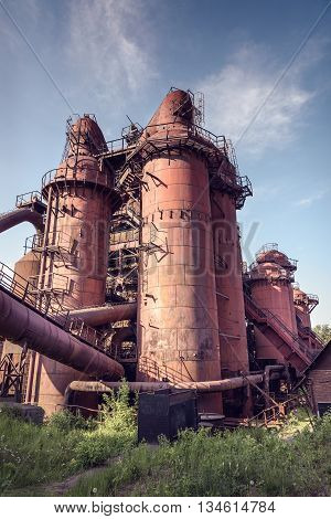 Old Cowper For Hot Blast In Blast Furnace
