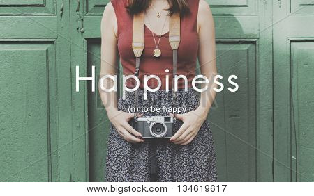 Happiness Cheerful Enjoyment Leisure Playful Concept