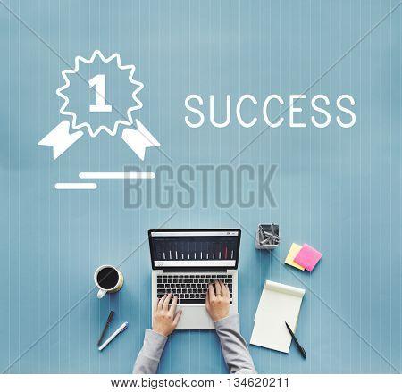 Success Achievement Accomplishment Strategy Improvement Concept