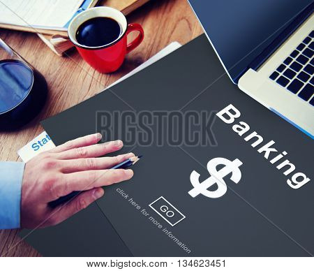 Business Banking Finance Currency Fund Concept