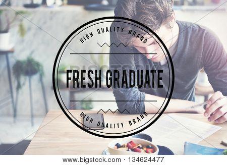 Fresh Graduate Academic Achievement Concept