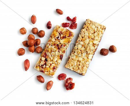 Healthy Cereal Bars With Nuts