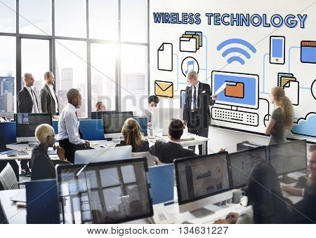 Wireless Technology Internet Online Connection Concept