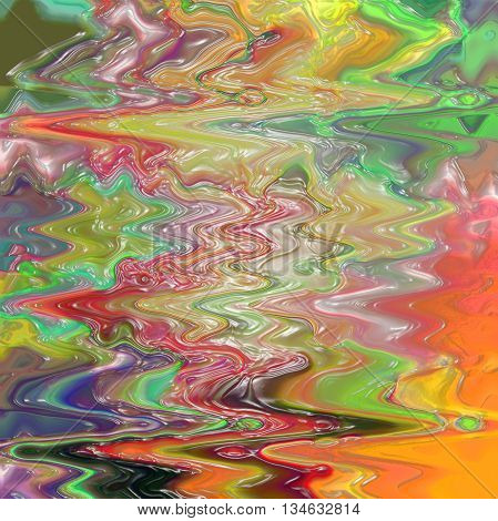Abstract coloring background of the sunrise gradient with visual plastic wrap effects,good for your idea design
