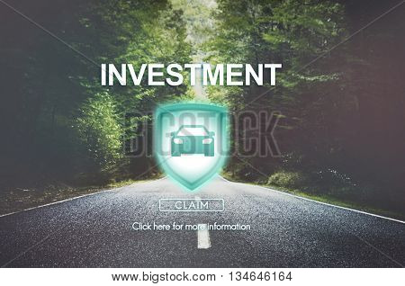 Investment Budget Financial Revenue Savings Concept