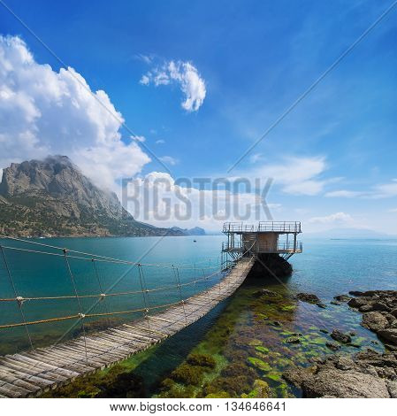 Golitsyn trail photo day / settlement New Svet Crimea