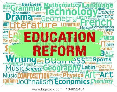 Education Reform Represents Make Better And Amended