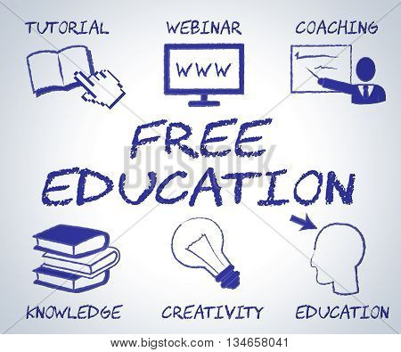 Free Education Means No Charge And Educate