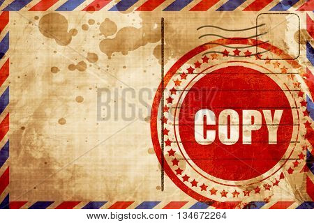 copy sign background