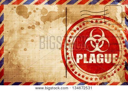 Plague concept background