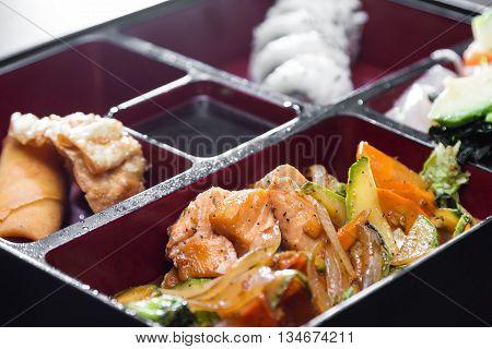 Restaurant Style Boxed Meal