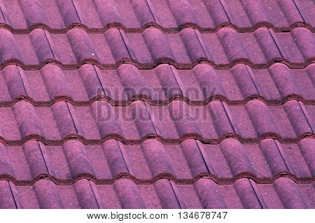 red roof texture , background , object