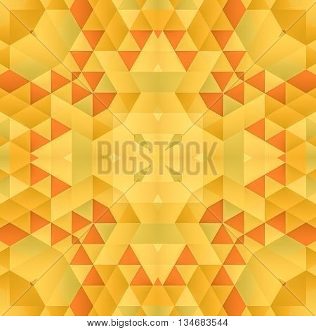 Symmetrical background element with bold geometrical patterns and stylized floral pattern. For wallpaper, pattern fills, web page background, surface textures for print and dalle production.