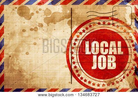 local job