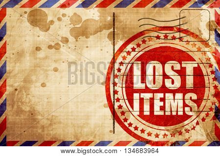 lost items