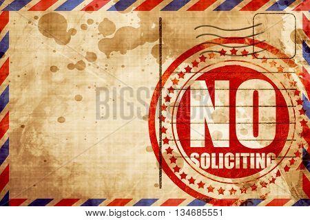 non-solliciting